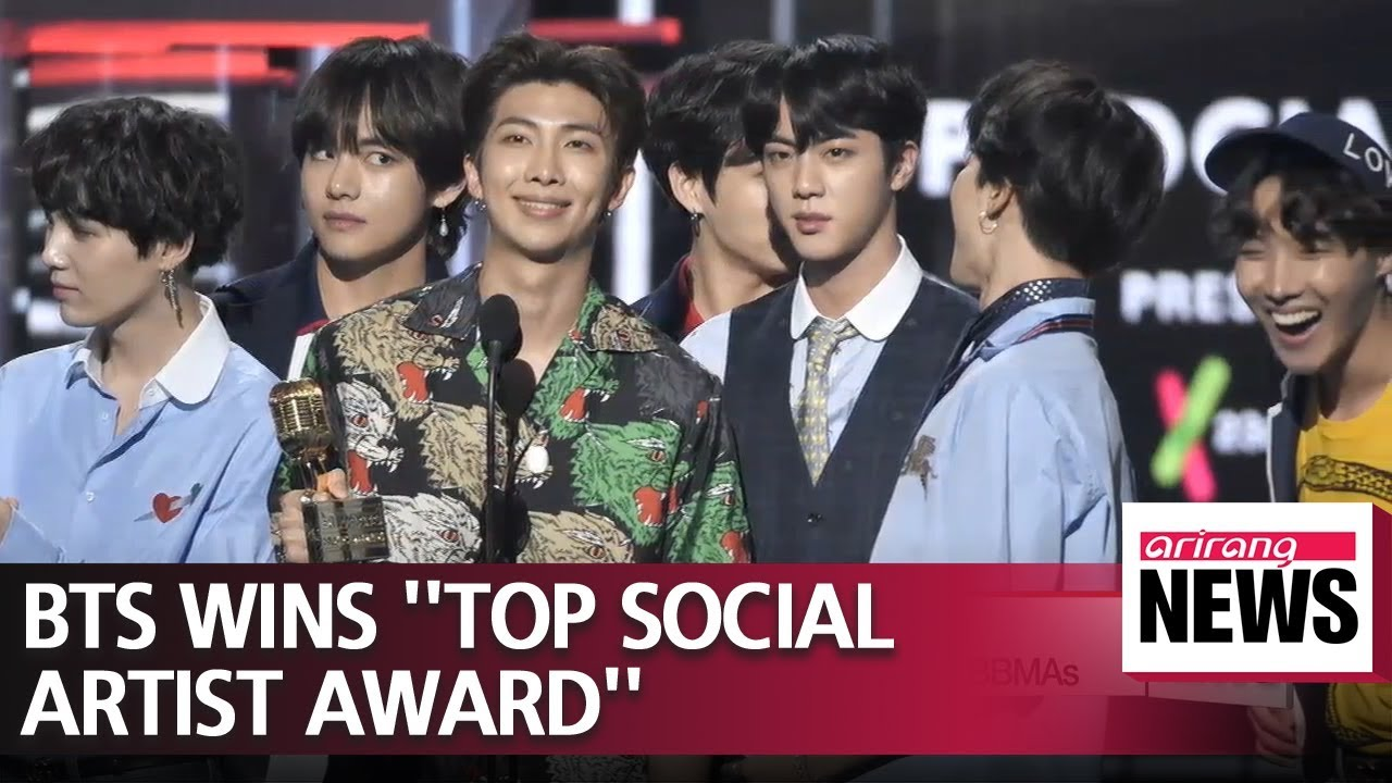 Bts Wins Top Social Artist Award Two Consecutive Years In Bbmas