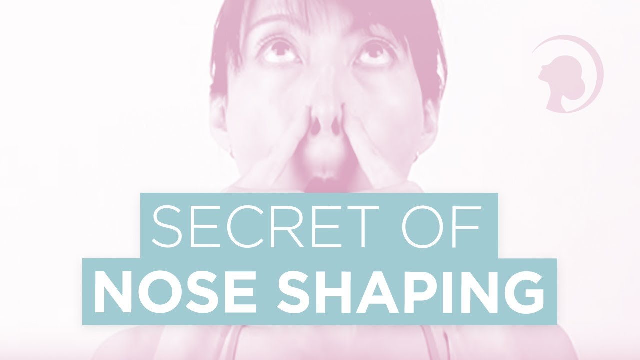 The Secret Of Nose Reshaping Httpfaceyogamethodcom Face Yoga