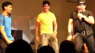 Allan K & Gino Onstage In Zirkoh! YouTube Videos
