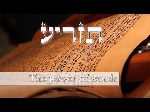 Parashat Tazria - the power of our words - Rabbi Alon Anava