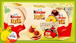 Kinder Œufs surprises – Angry Birds – Surprise Eggs – Unboxing – Titounis