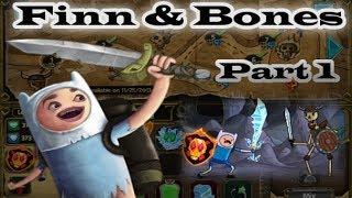 Adventure Time - Finn & Bones [ Full Walkthrough ] Part 1