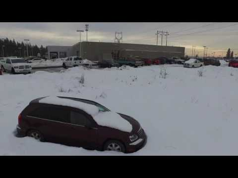 Flying Drone in North Spokane