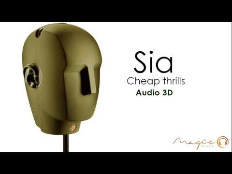 Sonido 3D- cover Sia- Cheap Thrills