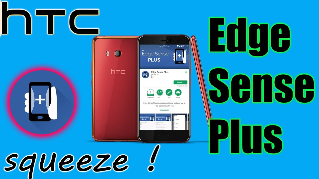 HTC U11 Edge sense plus [How to add more features to ...
