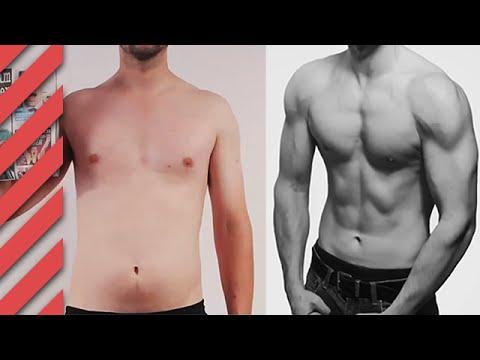 6 Monate Transformation - Von Skinny Fat zum Beachbody
