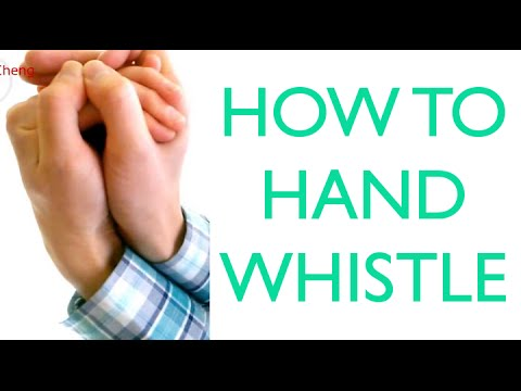 How To Hand Whistle (Hand Whistling Tutorial)