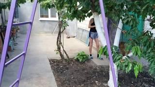 видео Садовая лестница-стремянка своими руками