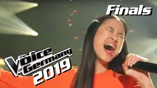 Gambar cover Whitney Houston - I Have Nothing (Claudia Emmanuela Santoso) | The Voice of Germany 2019 | Finals