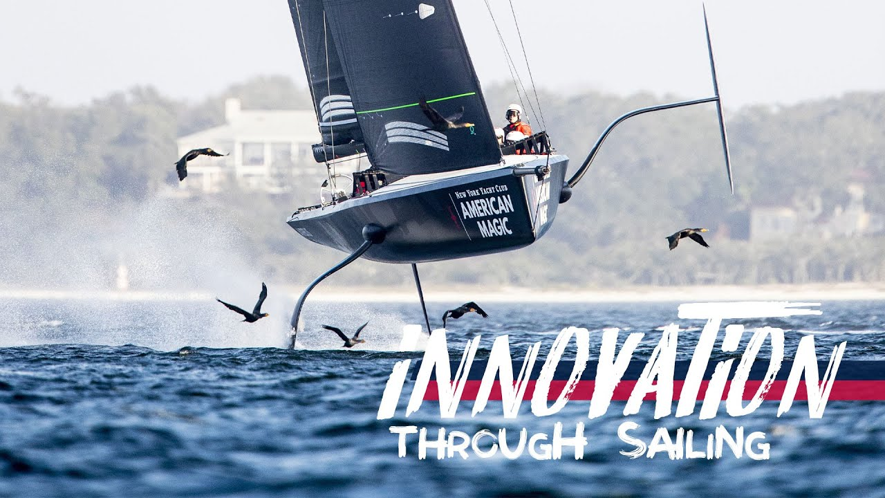 c22a794fec Innovation Through Sailing. American Magic