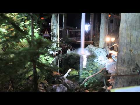 FCE - Santamus, the restaraunt of sensations at Arctic Circle Lapland - B roll