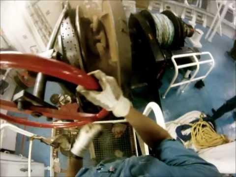 Awesome Jobs: Dropping a 20 Ton Ship Anchor.