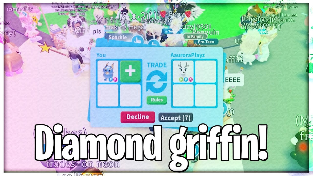 What People Trade For Diamond Griffin - Roblox Adopt Me!