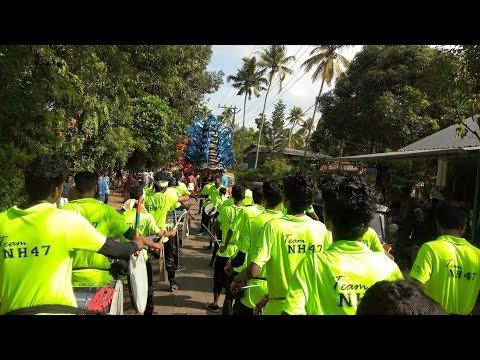 Team NH47 Nasik Dhol at Cherpu, Thrissur