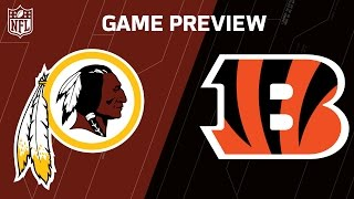 Redskins vs. Bengals (Week 8 Preview) | NFL in London | Around the NFL Podcast | NFL