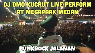 DJ OMO KUCRUT LIVE PERFORM AT MEGAPARK MEDAN