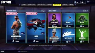 NEW DYNAMO AND MASKED FURY! WWE REY MYSTERIO SKINS IN FORTNITE ITEM SHOP