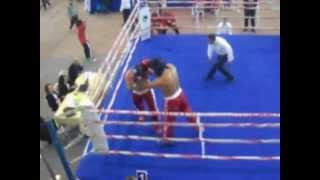 Muammer Pullukcu Türkiye Kickboks şampiyonası