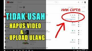 Cara Mengatasi Video Youtube Kena Hak Cipta/Copyright