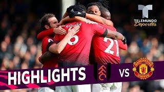 Fulham vs. Manchester United: 0-3 Goals & Highlights | Premier League | Telemundo Deportes