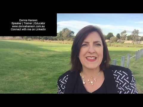 Donna Hanson I Productivity Speaker I The Importance of First Impressions