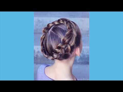 Pull Through Crown Braid // One Minute Tutorial // Brown Haired Bliss