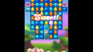 Candy Crush Friends Saga Level 405 - NO BOOSTERS 👩‍👧‍👦 | SKILLGAMING ✔️