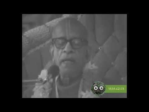 Шримад Бхагаватам 1.8.26 - Шрила Прабхупада