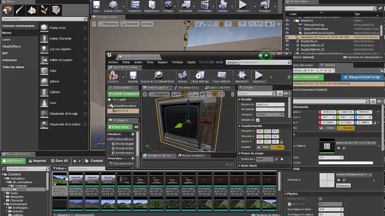 Ue4 how to make a simple working tv youtube ue4 how to make a simple working tv malvernweather Image collections