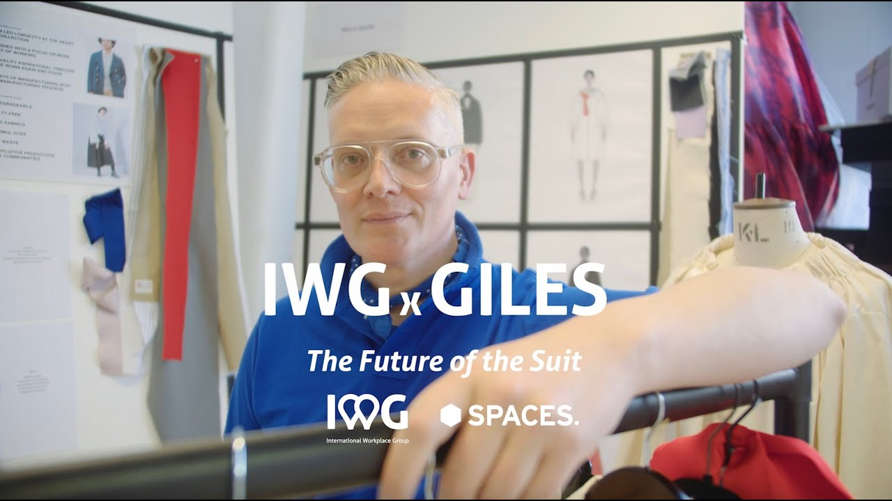 IWG x Giles | The Future of the Suit