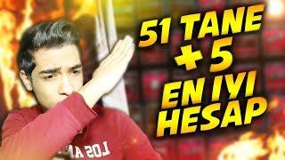 OHA !! İŞTE OYUNUN EN İYİ HESABI !! 51 TANE +5 VE BİNLERCE EFSANE !!   ZULA