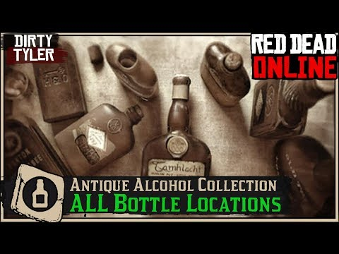 All Antique Alcohol Bottle  Locations (Cycle 2) Madam Nazar Collection Red Dead Online RDR2