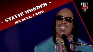 Stevie Wonder - Medley : Sir Duke, I Wish (TARATATA LIVE - Avr.1995)