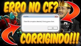 [CORRIGINDO] Client file Corruption Detected, Closing Game Client