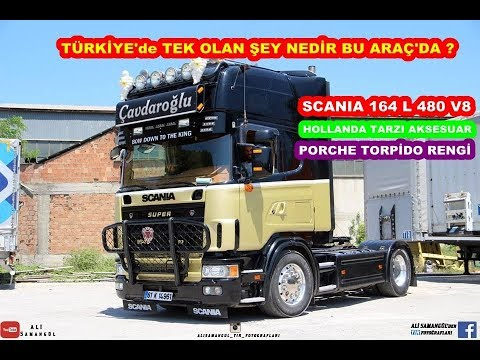 EFSANE SCANIA 164L 480 TOPLINE / V8 SHOE EXHAUST / INTRODUCTION / EXAMINATION