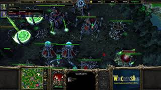 Happy(UD) vs Lin Guagua(ORC) - WarCraft 3 Frozen Throne - RN4373