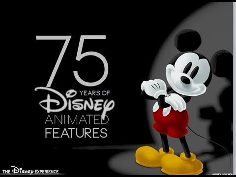 75 Years of Disney Animated Features Tribute
