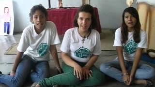 Cancion Jesus Caminante interpretada por Gabriela Mata, Emmary Mujica y Arcelia Aviles,