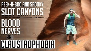 Grand Staircase-Escalante N.M.   Peek-a-boo and Spooky SLOT CANYONS