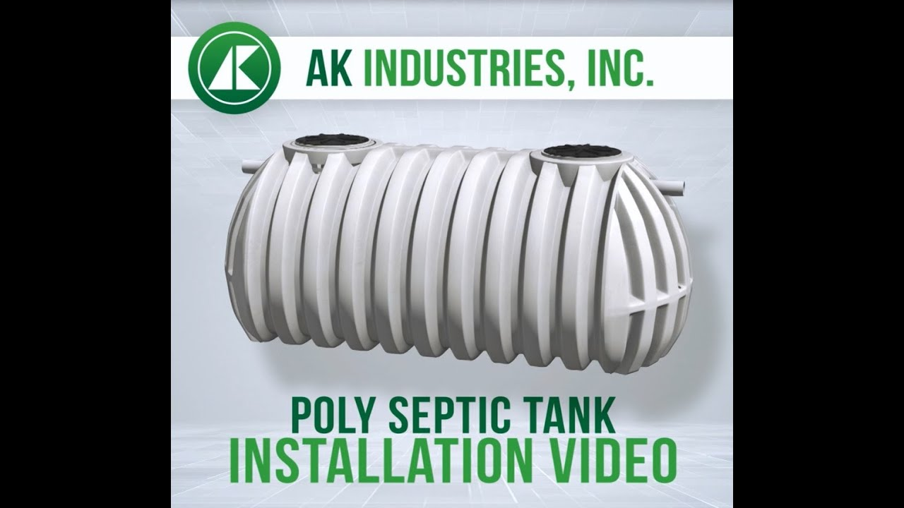 medium resolution of how to install a septic tank