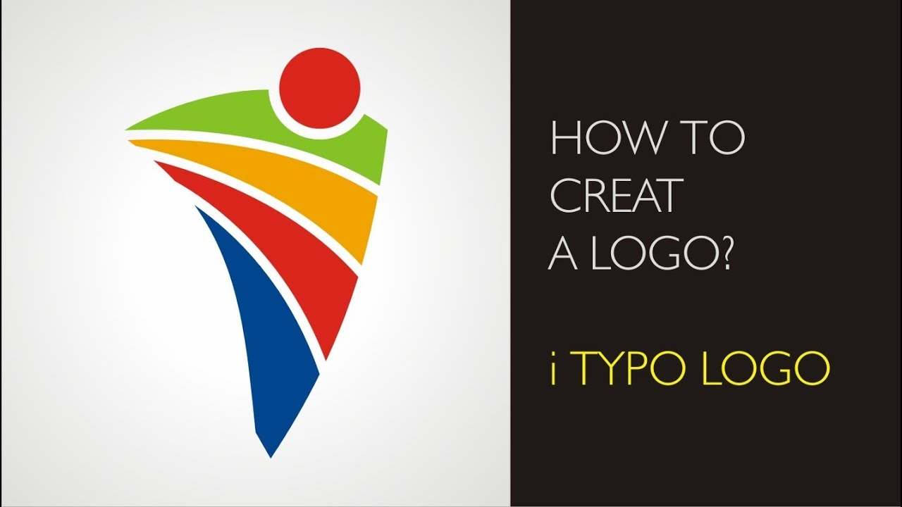 How to create a logo - i typo logo - YouTube