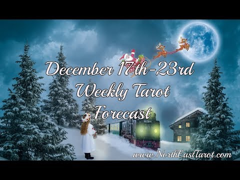 Libra Weekly Tarot Forecast December 17th-23rd