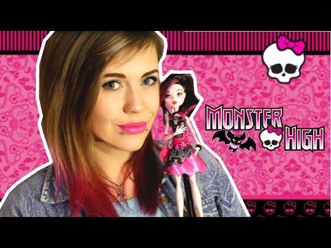 Куклы Монстр Хай / Monster High Обзор / Дракулаура Страх! Камера! Мотор!