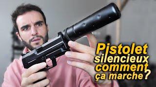 Comment fonctionne un pistolet silencieux ?