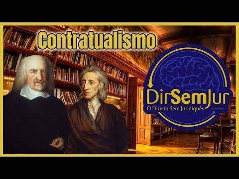 Contratualismo: Thomas Hobbes (Leviatã) e John Locke (Segundo Tratado sobre o Governo Civil)