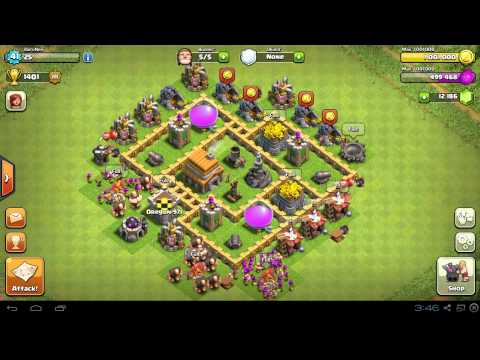 Town Hall Level 5 (TH5) Base MAXED OUT Completely Upgrade Strategy For Clash Of Clans