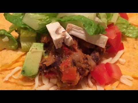 Easy Vegan Bean Taco Filling Recipe