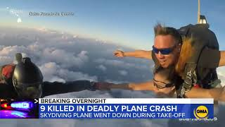 Hawaii skydiving plane crashes in Oahu, killing 11