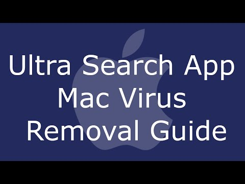 Ultra Search App Mac Virus Removal
