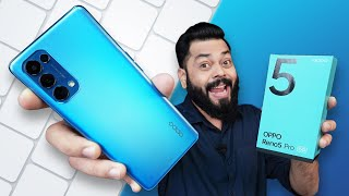 OPPO Reno5 Pro 5G Unboxing And First Impressions ⚡ AI Videography, Dimensity 1000+ And More